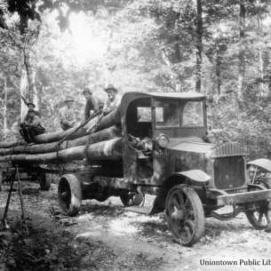 Logging in Fayette County