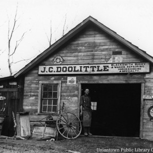 J.C. Doolittle Blacksmith Shop
